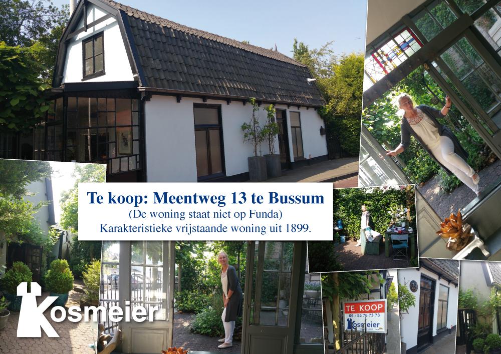 Te koop: Meentweg 13, Bussum
