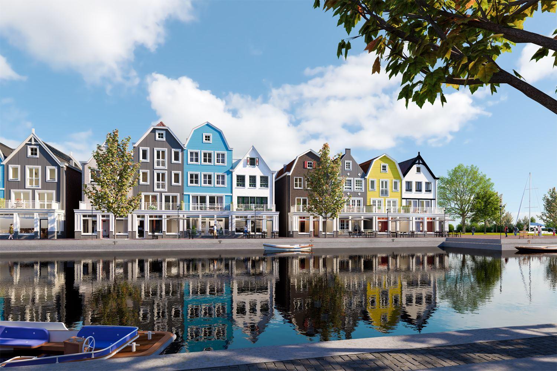 Te koop: Loosdrecht, Nieuwbouw, Nog 4 Pakhuizen beschikbaar